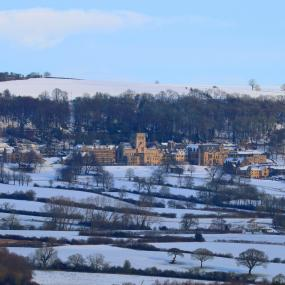Winter at Ampleforth