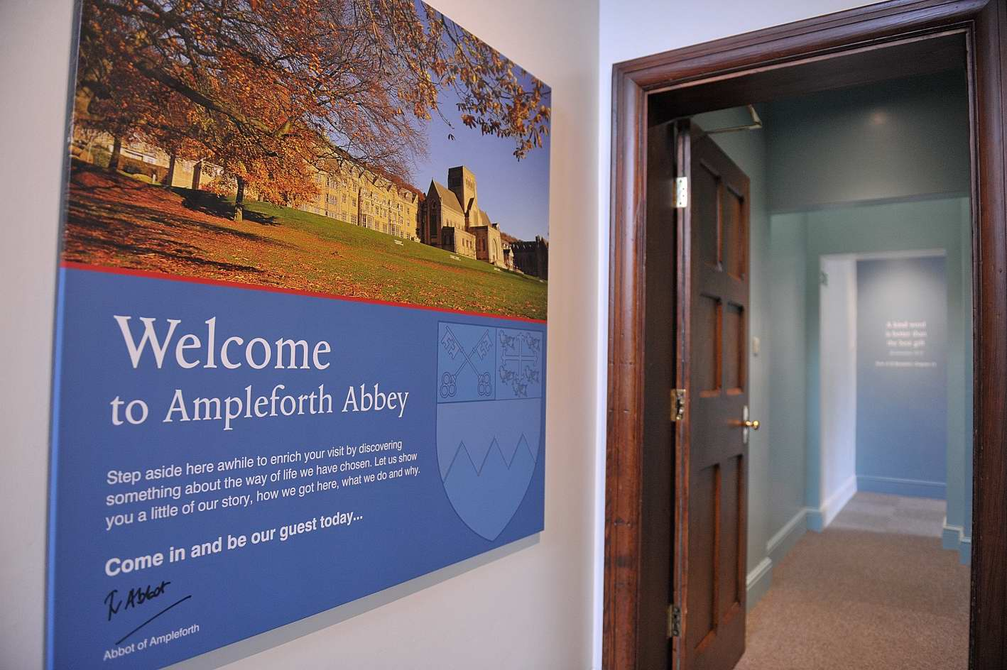 Ampleforth  Abbey Visitor Centre
