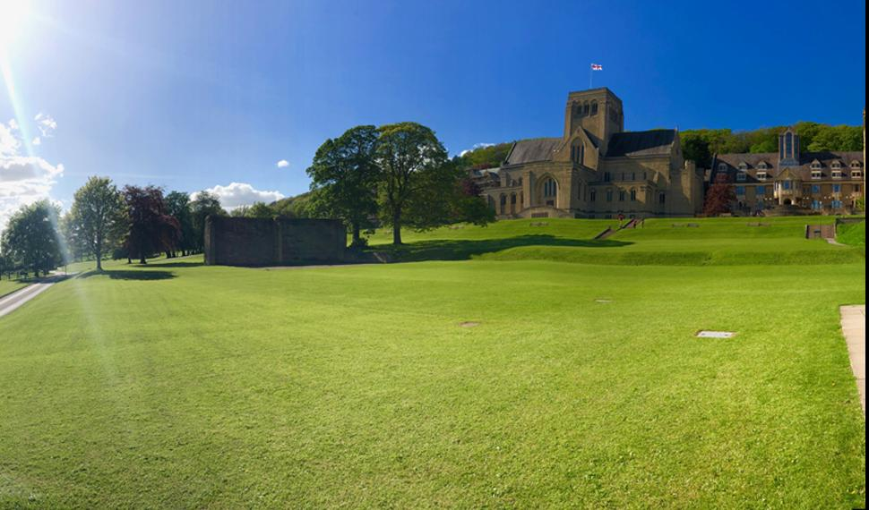Panoramic view of ampleforth