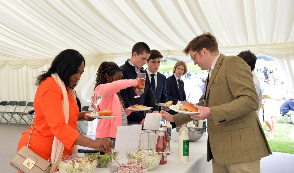 Marquee Catering at Ampleforth